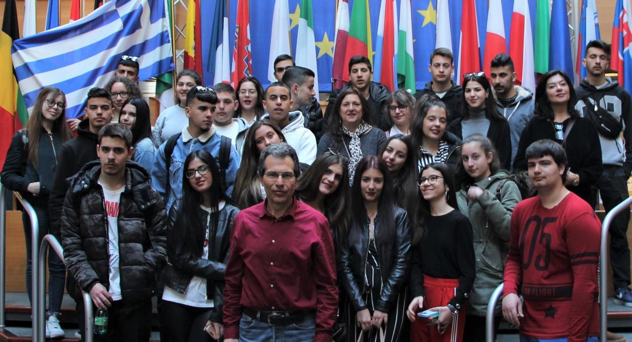 Το 2ο ΓεΛ στο Ευρωπαϊκό Κοινοβούλιο και στο Συμβούλιο της Ευρώπης στο Στρασβούργο